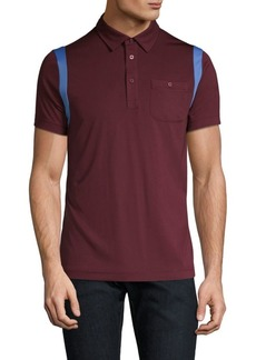 J. Lindeberg Golf Dolph Slim-Fit Stripe Polo