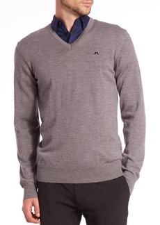 J. Lindeberg Golf Lymann V-Neck Sweater
