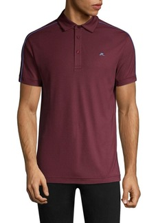 J. Lindeberg Golf Regular-Fit Stripe Polo