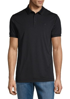 J. Lindeberg Graphic Short-Sleeve Polo