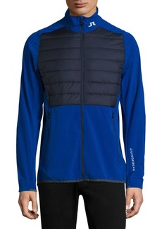 J. Lindeberg Active Hybrid Mixed-Media Jacket