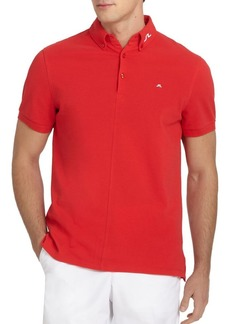 J. Lindeberg Active Rubi Organic Cotton Polo Shirt