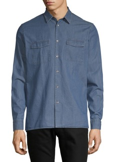 J. Lindeberg Casual Cotton Button-Down Shirt