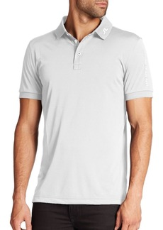 J. Lindeberg Golf Tour Tech Logo Polo
