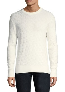 J. Lindeberg Herringbone Cotton Sweater