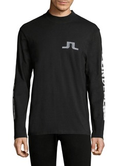J. Lindeberg Junips Logo Long Sleeve Top