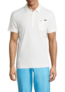 J. Lindeberg Mikael Cotton Blend Polo