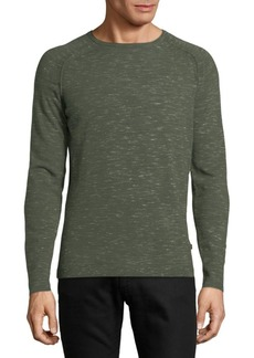 J. Lindeberg Raglan-Sleeve Heathered Sweater