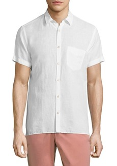 J. Lindeberg Short-Sleeve Button-Down Shirt