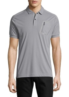 J. Lindeberg Short Sleeve Polo