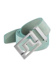 J. Lindeberg Golf Slater Leather Belt