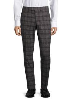 J. Lindeberg Grant Slim-Fit Check Trousers
