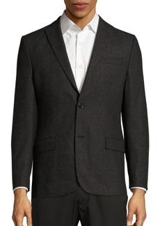 J. Lindeberg Tailored Wool Blend Suit Jacket