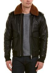 J. Lindeberg J.Lindeberg Santo Leather Jacket