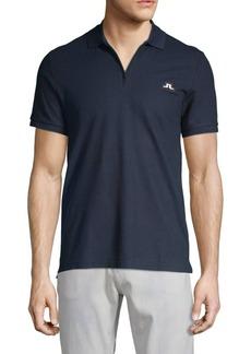 J. Lindeberg Logo Cotton Jersey Polo