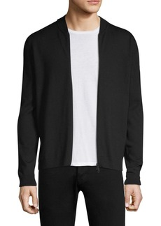 J. Lindeberg Lyam Merino Zip-Up Sweater