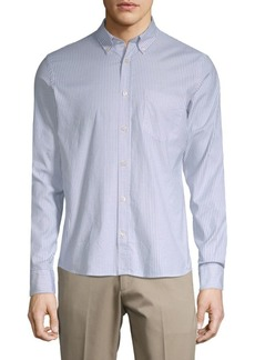 J. Lindeberg Pinstripe Button-Down Shirt