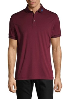 J. Lindeberg Regular-Fit Logo-Embroidery Polo