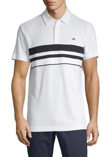 J. Lindeberg Regular-Fit Striped Polo