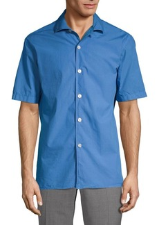 J. Lindeberg Short-Sleeve Button-Down Shirt