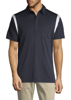 J. Lindeberg Short-Sleeve Contrast Polo