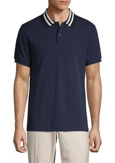 J. Lindeberg Short-Sleeve Cotton Polo