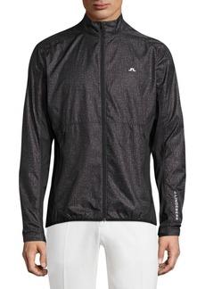 J. Lindeberg Stand-Collar Golf Performance Jacket