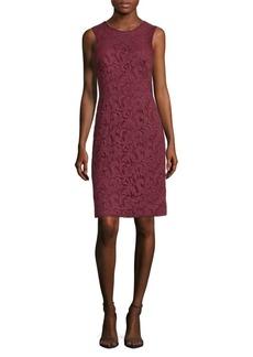 J. Mendel Corded Lace Sheath Dress