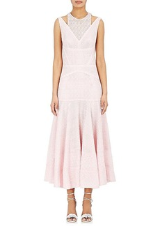 J. Mendel Women's Cotton-Blend Lace Midi-Dress