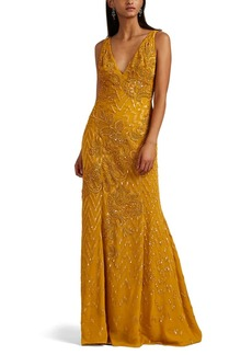 J. Mendel Women's Embellished Silk Gown