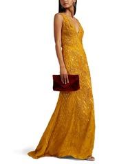 J. Mendel Women's Embellished Silk Gown