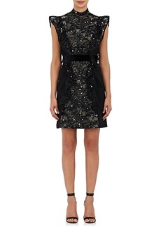 J. Mendel Women's Embellished Silk Sleeveless Sheath Dress
