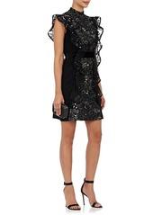 J. Mendel Women's Embellished Silk Sleeveless Sheath Dress