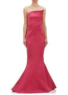 J. Mendel Women's Faille Strapless Gown