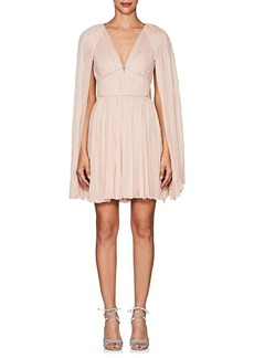 J. Mendel Women's Hand-Pleated Silk Mousseline Dress