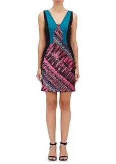 J. Mendel Women's Jacquard Sleeveless Sheath Dress