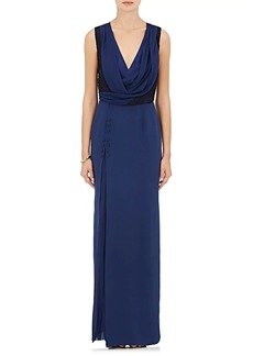 J. Mendel Women's Lace & Silk Gown