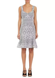 J. Mendel Women's Lace Sleeveless Dress