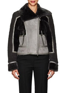 J. Mendel Women's Patchwork Shearling Jacket