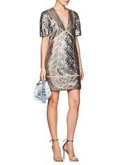 J. Mendel Women's Sequin-Embellished Shift Dress