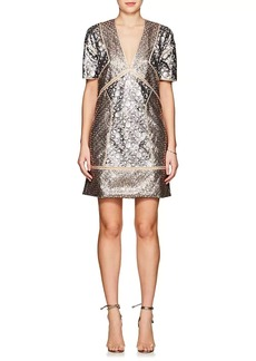 J. Mendel Women's Sequin-Embellished Shift Dress