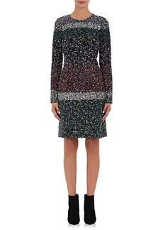 J. Mendel Women's Silk Embellished Shift Dress
