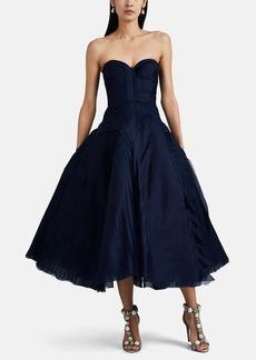 J. Mendel Women's Tulle & Tiered Gauze Cocktail Dress