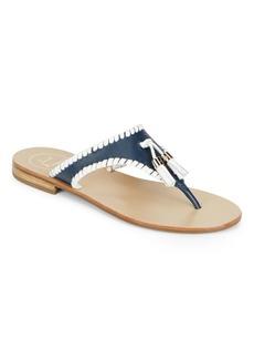 Jack Rogers Alan Tasseled Thong Sandals