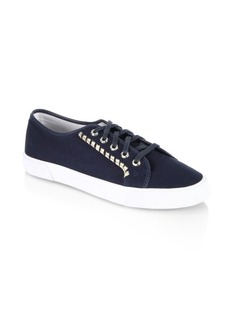 Jack Rogers Carter Canvas Low-Top Sneakers