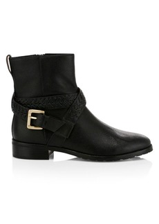 Jack Rogers Eliza Moto Leather Booties