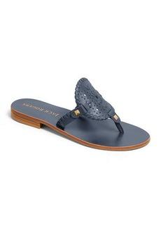 Jack Rogers Georgica Leather Medallion Sandals