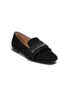 Jack Rogers Beatrix Jeweled Suede Loafers