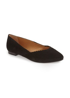Jack Rogers 'Caroline' Leather Flat (Women)