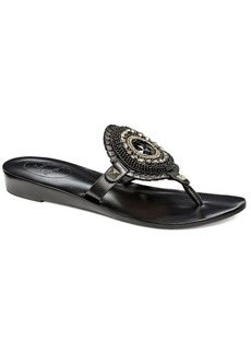 Jack Rogers Gisele Leather Thong Sandals